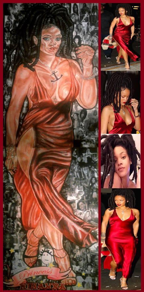 Rihanna by NicoleBoo